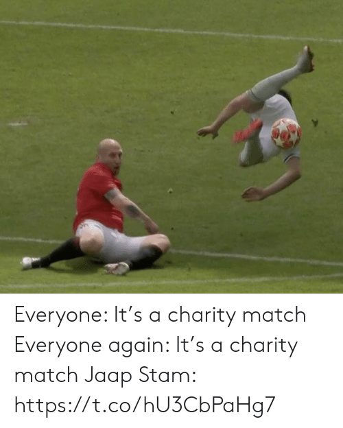 Memes, Match, and 🤖: Everyone: It's a charity match  Everyone again: It's a charity match  Jaap Stam: https://t.co/hU3CbPaHg7