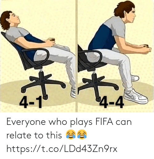 soccer: Everyone who plays FIFA can relate to this 😂😂 https://t.co/LDd43Zn9rx