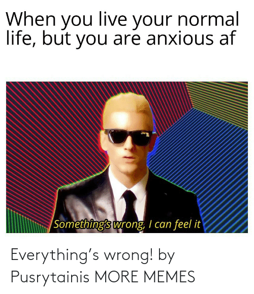 everything: Everything's wrong! by Pusrytainis MORE MEMES