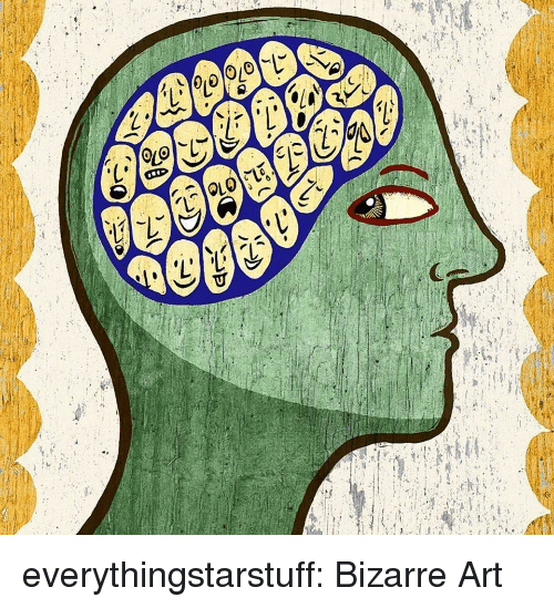 Facebook, Tumblr, and Blog: everythingstarstuff:   Bizarre Art