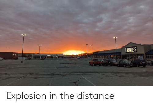 explosion: Explosion in the distance