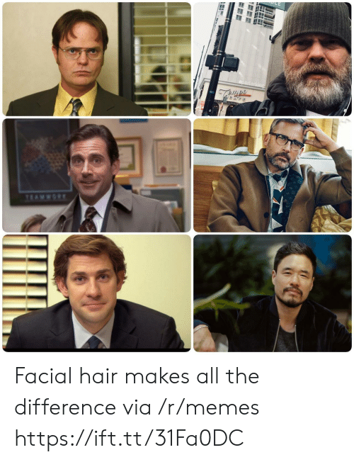 Facial: Facial hair makes all the difference via /r/memes https://ift.tt/31Fa0DC