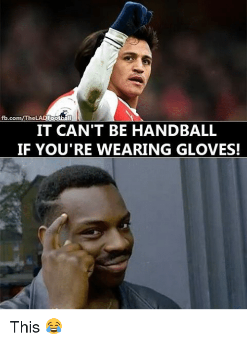 handball: fb.co  Ctball  IT CAN'T BE HANDBALL  IF YOU'RE WEARING GLOVES! This 😂