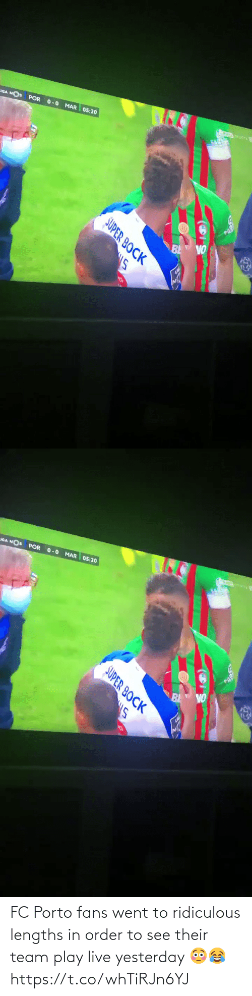 soccer: FC Porto fans went to ridiculous lengths in order to see their team play live yesterday 😳😂 https://t.co/whTiRJn6YJ