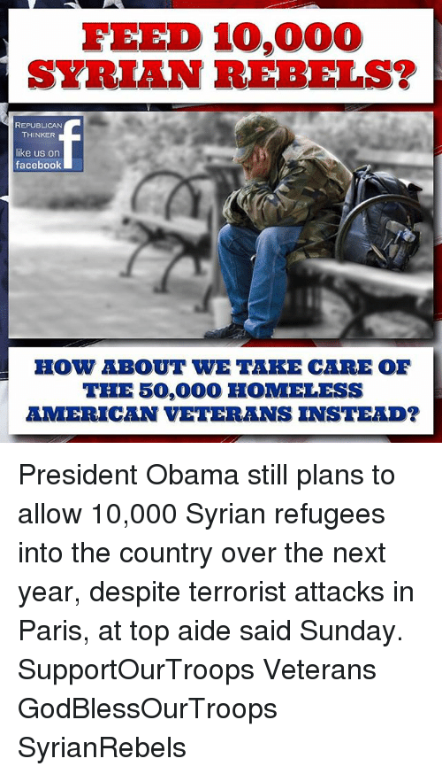 FEED 10000 SYRIAN REBELS? REPUBLICAN THINKER Like Us on Facebook HOW
