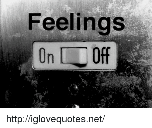 On Off: Feelings  On Off http://iglovequotes.net/