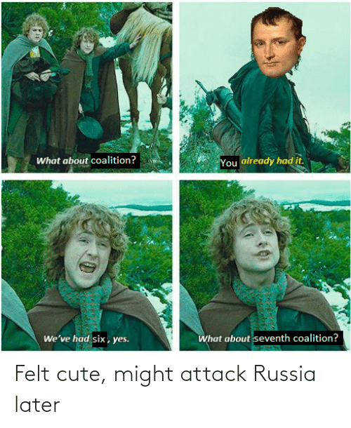 attack: Felt cute, might attack Russia later