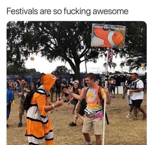 fucking awesome: Festivals are so fucking awesome  WHERE'S MY FUCKIN SON