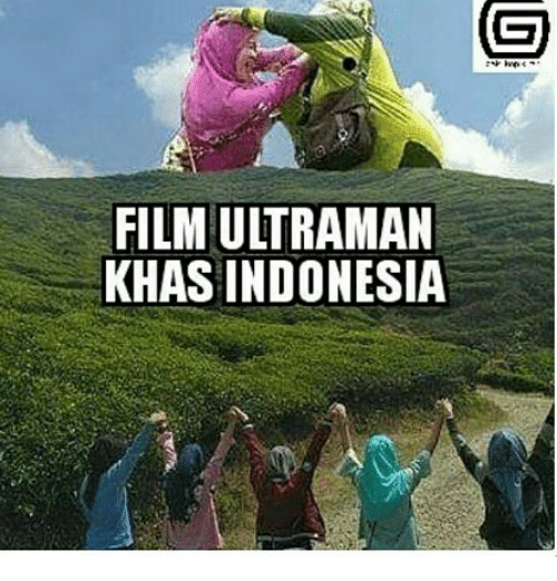 FILM ULTRAMAN KHAS INDONESIA
