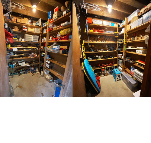 shed: Finally got around to cleaning up grandpa's tool shed while at home :)