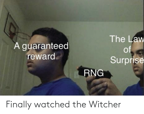 law of surprise witcher reddit