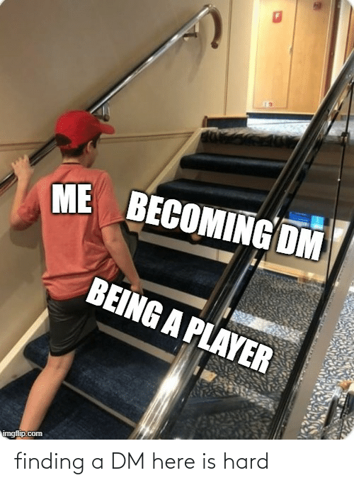 A Dm: finding a DM here is hard