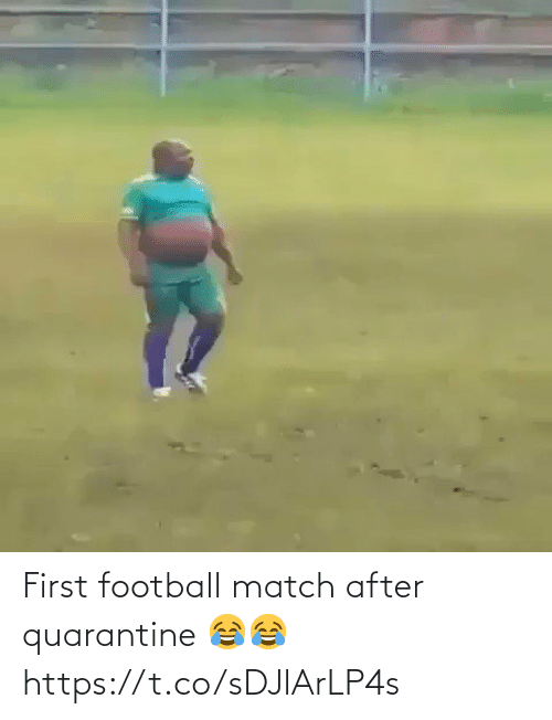 soccer: First football match after quarantine 😂😂 https://t.co/sDJlArLP4s