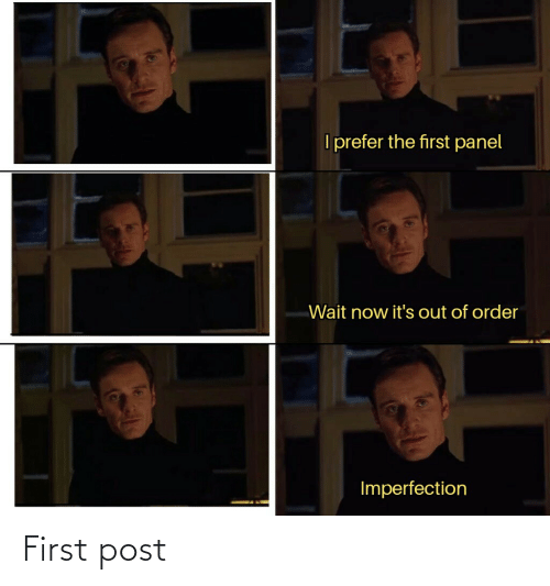 First Post: First post
