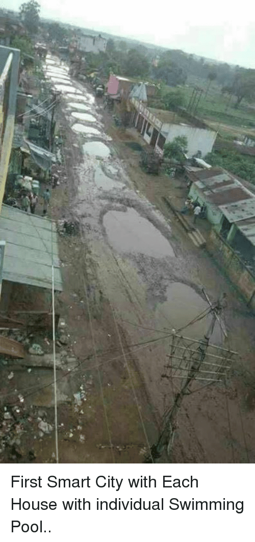 nepali: First Smart City with Each House with individual Swimming Pool..