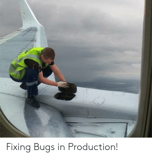 Bugs, Fixing, and In Production: Fixing Bugs in Production!