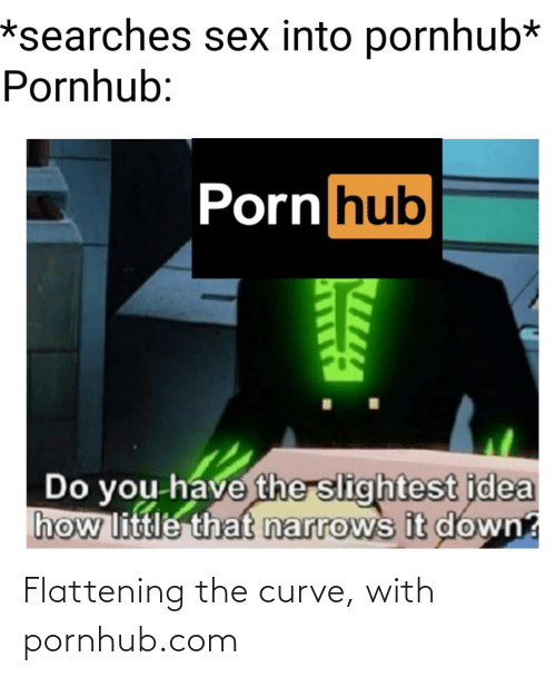 Pornhub: Flattening the curve, with pornhub.com