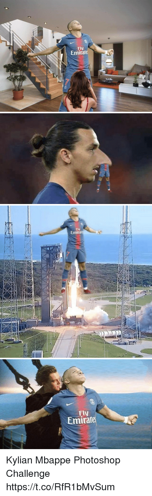 Memes, Photoshop, and 🤖: Fly  Emirate   Fiv  Emira   Fly  Emirate Kylian Mbappe Photoshop Challenge https://t.co/RfR1bMvSum