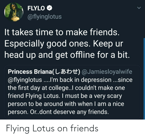 Flying: Flying Lotus on friends