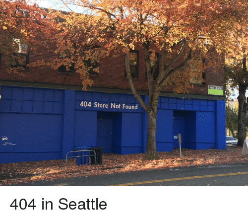 Seattle, Store, and For: FOR LEASE  404 Store Not Found  vi 404 in Seattle