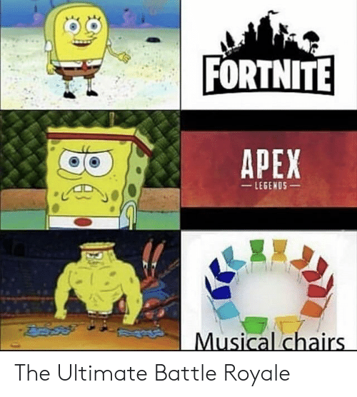 Apex: FORTNITE  APEX  LEGENOS  Musical chairs The Ultimate Battle Royale