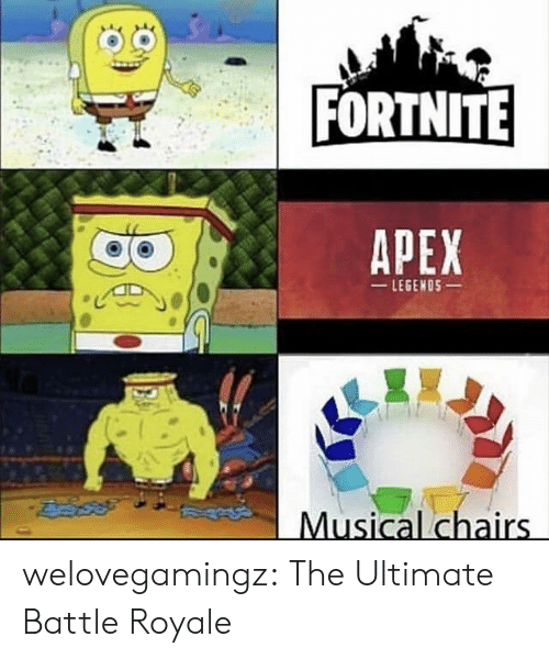 Apex: FORTNITE  APEX  LEGENOS  Musical chairs welovegamingz:  The Ultimate Battle Royale