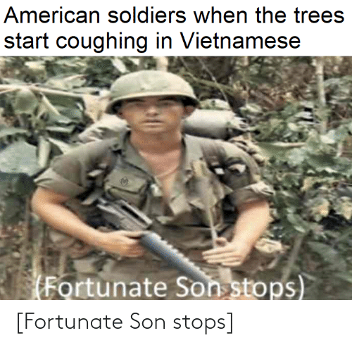 Stops: [Fortunate Son stops]