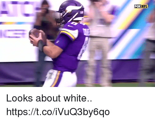 Football, Nfl, and Sports: FOXNFL Looks about white.. https://t.co/iVuQ3by6qo