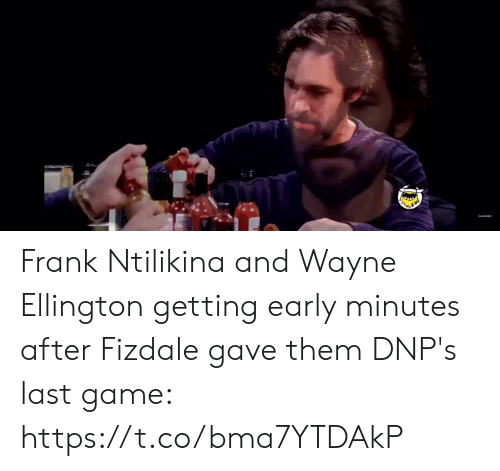 Game, New York Knicks, and Last Game: Frank Ntilikina and Wayne Ellington getting early minutes after Fizdale gave them DNP's last game:   https://t.co/bma7YTDAkP