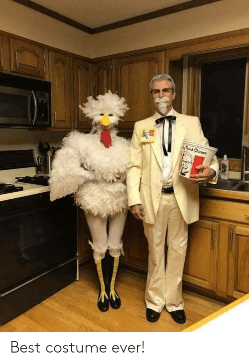 Fried: Fried Chicken Best costume ever!