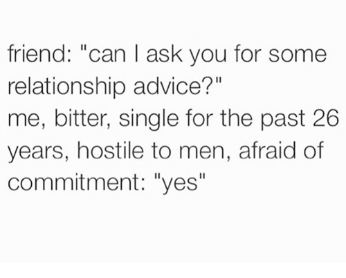 relationship advice for me