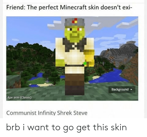 Friend The Perfect Minecraft Skin Doesn T Exi Background 4px Arm