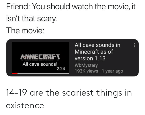🅱️ 25+ Best Memes About Scariest Thing Ever | Scariest