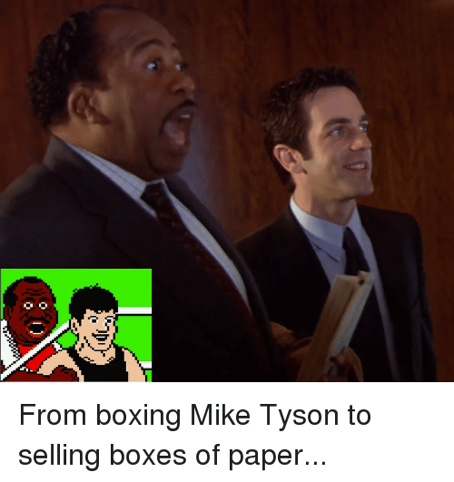 Boxing, Mike Tyson, and The Office