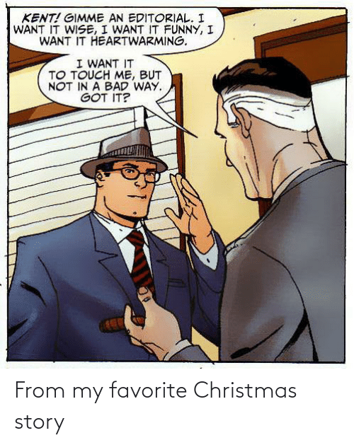 Christmas: From my favorite Christmas story