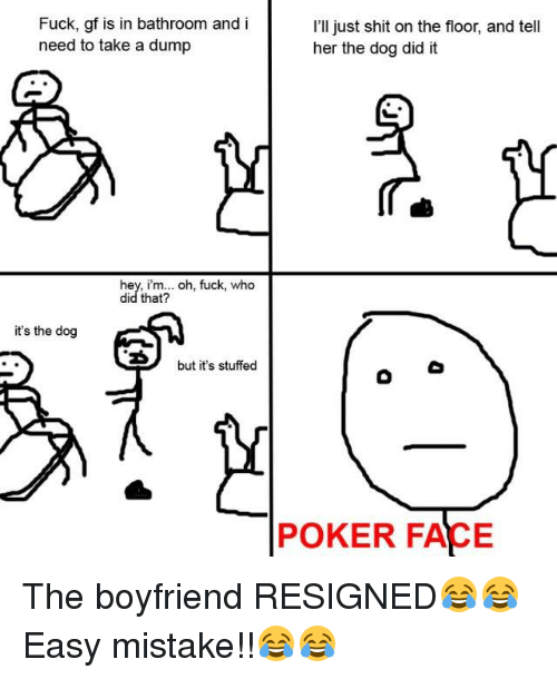 Simply matchless Pokerface fuck her face consider