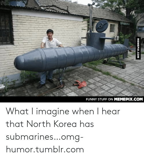 I Hear That: FUNNY STUFF ON MEMEPIX.COM  МЕМЕРIХ.сом What I imagine when I hear that North Korea has submarines…omg-humor.tumblr.com