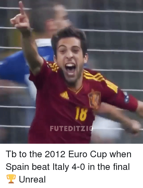 Unrealism: FUTEDITZI Tb to the 2012 Euro Cup when Spain beat Italy 4-0 in the final 🏆 Unreal