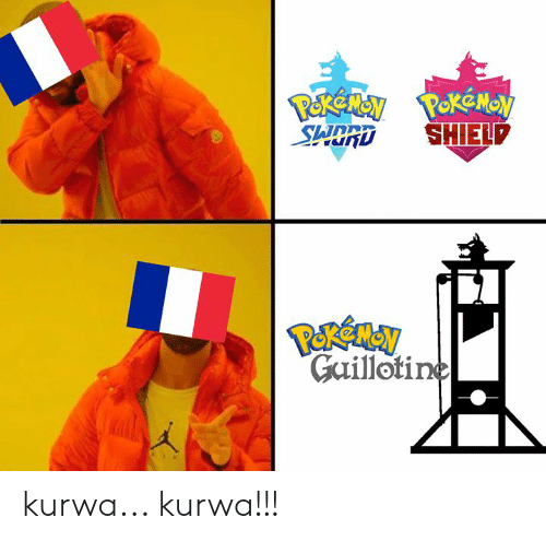 Polandball and Kurwa: Gailloti kurwa... kurwa!!!