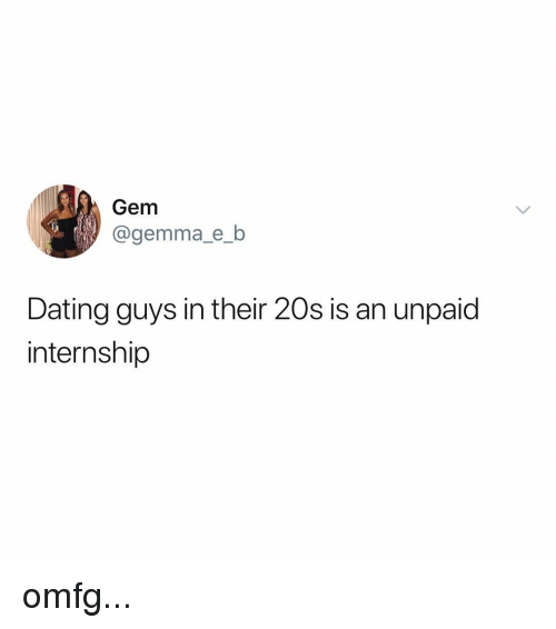 Guys in their 20s dating