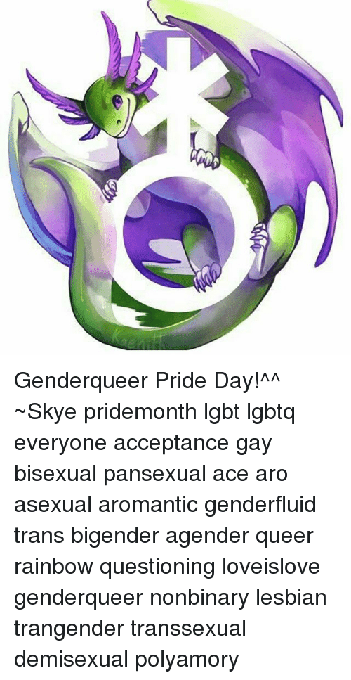 Polyamorous asexual definition colors