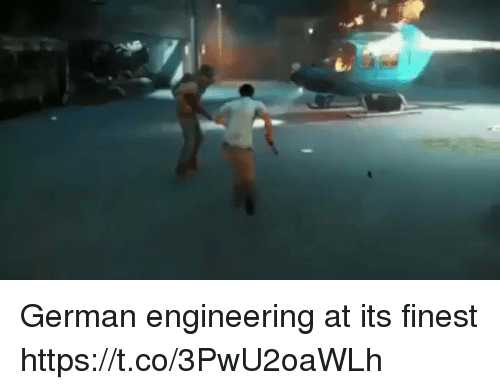 German Engineering: German engineering at its finest https://t.co/3PwU2oaWLh