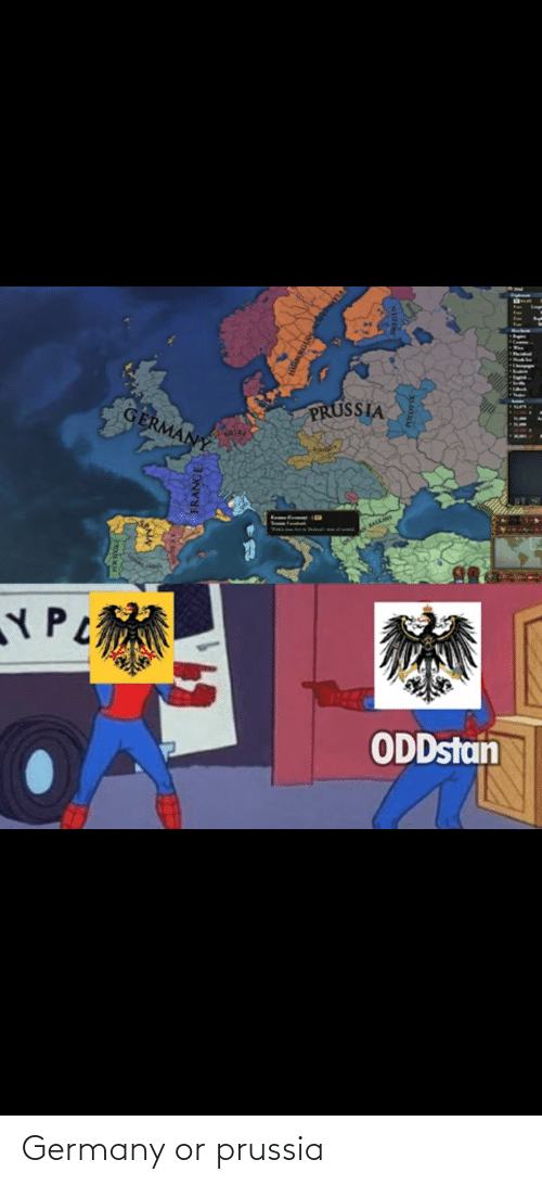 Prussia: Germany or prussia