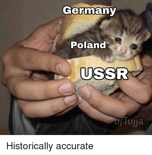 Germany, Poland, and Ussr: Germany  Poland  USSR  Tujja Historically accurate