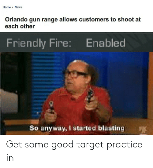 Some Good: Get some good target practice in