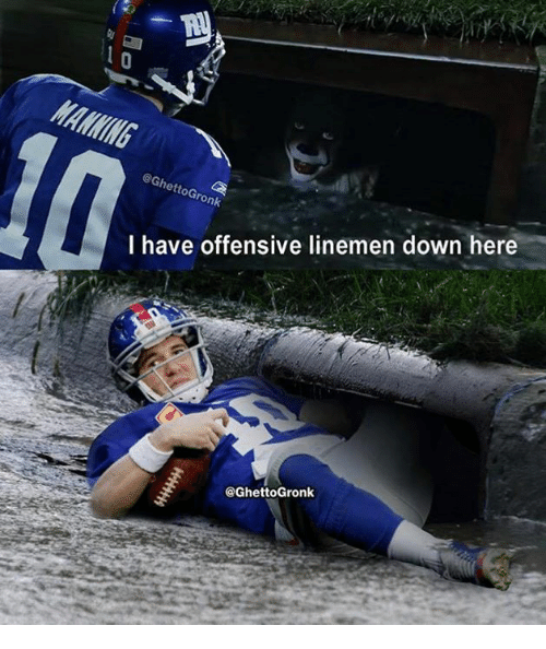 Nfl, Down, and Here: @GhettoGronk  I have offensive linemen down here  @GhettoGronk