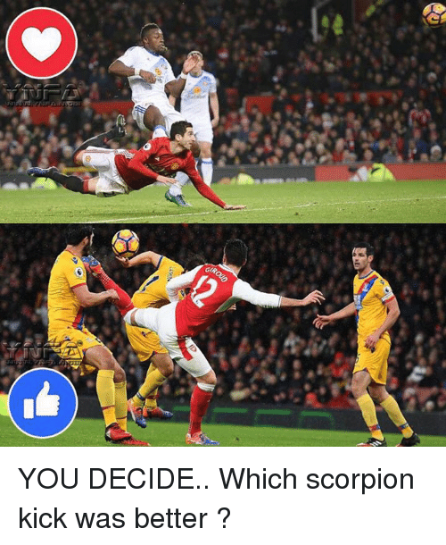 Memes, Scorpion, and 🤖: GIP, YOU DECIDE.. Which scorpion kick was better ?