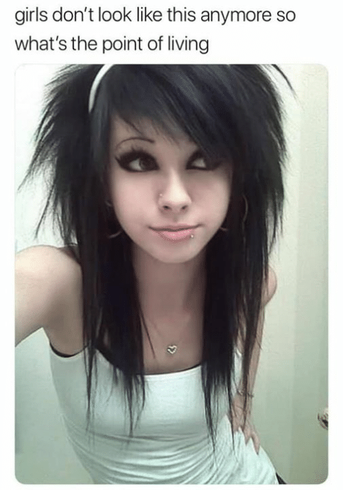 Girls, Living, and Whats: girls don't look like this anymore so  what's the point of living  5>
