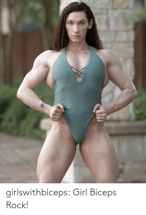 rock: girlswithbiceps:  Girl Biceps Rock!