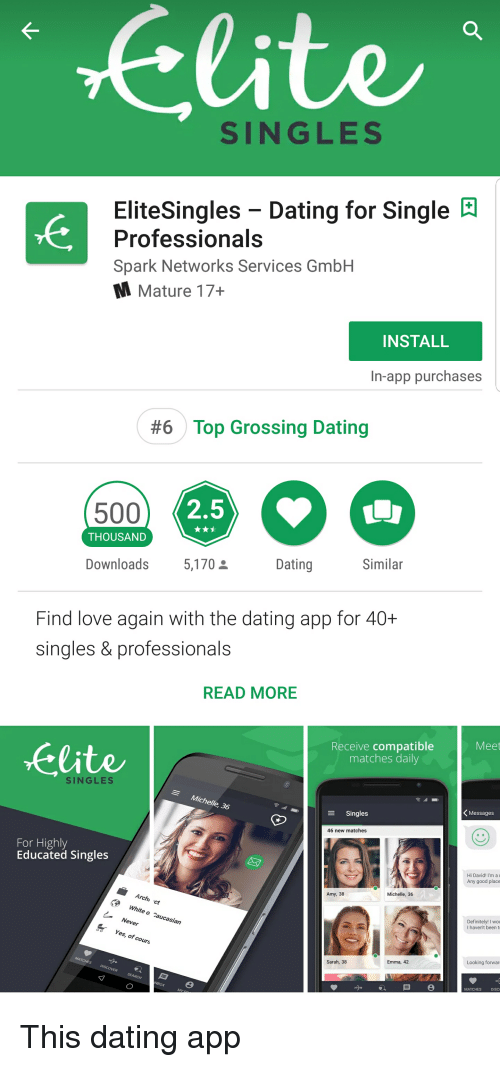 Elite dating app